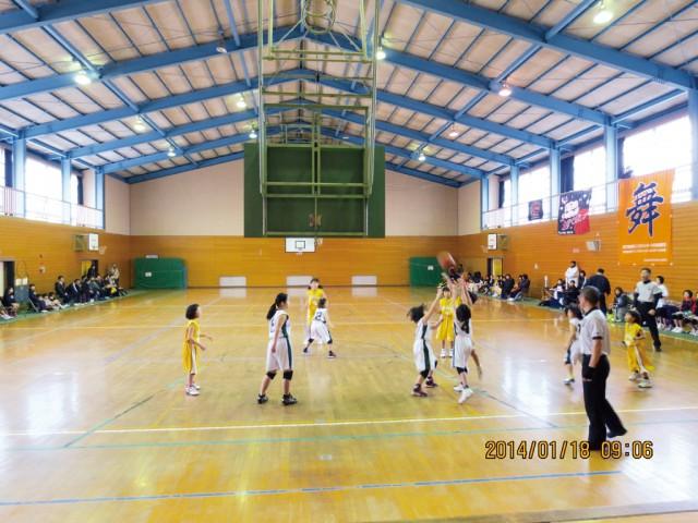 イメージ:小野田LC『ライオンズ杯争奪ミニバスケットボール大会』(2014.1.19)(1)